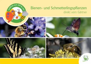 """Broschüre """"Bienen- und Schmetterlingspflanzen"""""""