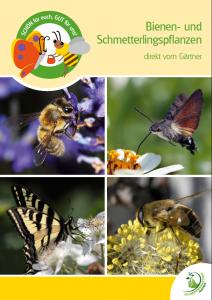"""Poster """"Bienen- und Schmetterlingspflanzen"""""""