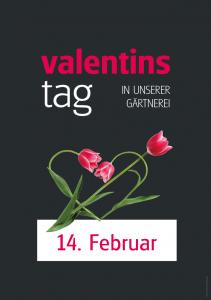 Poster Valentinstag - einfach