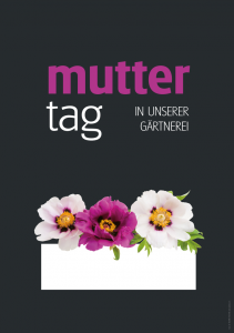 Poster Muttertag - einfach