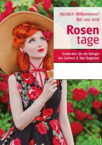 Poster Rosentage - mit Menschen