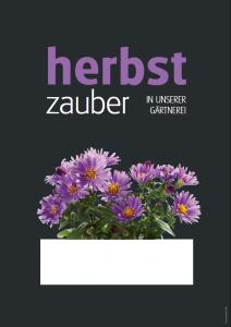 Poster Herbstzauber - einfach