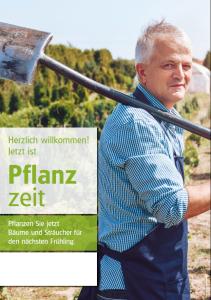 Poster Pflanzzeit - mit Menschen