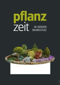 Poster Pflanzzeit - einfach