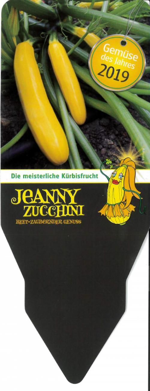 Etiketten Gemüse des Jahres 2019 - Jeanny Zucchini