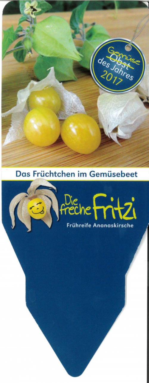 Etiketten Gemüse des Jahres 2017 - Freche Fritzi