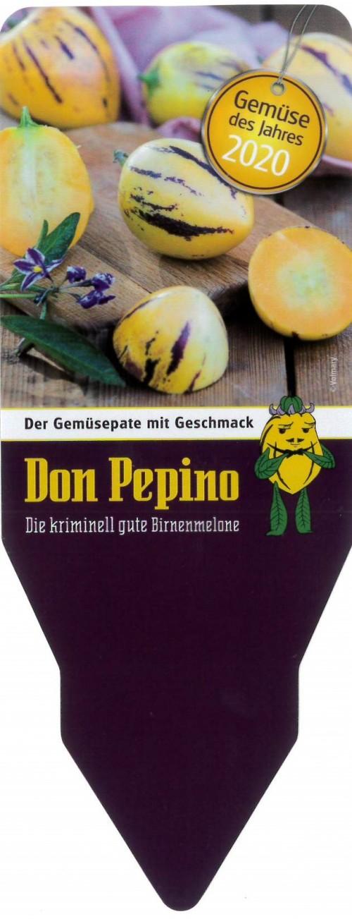 Stecketikett Gemüse des Jahres 2020 - Don Pepino